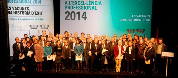 Premis a l'Excel·lència Professional 2014